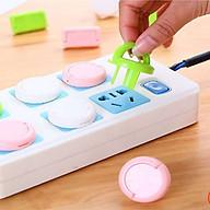 Nút bịt ổ điện - ổ cắm điện 2 chấu,3 chấu chống giật có quai cầm an toàn tiện lợi thumbnail