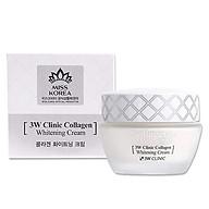 Kem Dưỡng Trắng Da Tinh Chất Collagen 3W Clinic Collagen Whitening Cream thumbnail