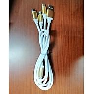 Dây sạc đa năng Micro USB, Type C, Lightening cho Android và Iphone thumbnail