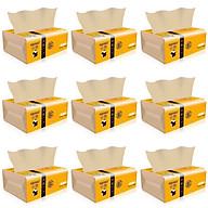 Giấy ăn gấu trúc sợi tre siêu dai (15 gói) an toàn khi sử dụng, giấy ăn an toàn không chất tẩy trắng thumbnail