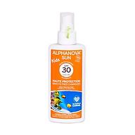 Kem chống nắng hữu cơ trẻ em SPF30 dạng xịt Alphanova Sun 125g thumbnail