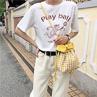 Túi dây rút đeo vai phong cách Nhật dễ thương TD038 thumbnail