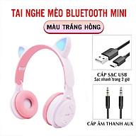 Tai Nghe Chụp Tai Bluetooth 5.0 Không Dây Hình Tai Mèo Phát Sáng Headphone Bluetooth M6 Dễ Thương Bass Cực Ấm thumbnail