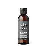 Nước hoa hồng cân bằng dầu Sukin Oil Balancing Clarifying Facial Tonic 125ml thumbnail