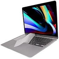 Miếng phủ bàn phím cho MacBook Air 13.3 New 2020 hiệu JCPAL FitSkin Clear Tpu siêu mỏng 0.2 mm - Hàng nhập khẩu thumbnail