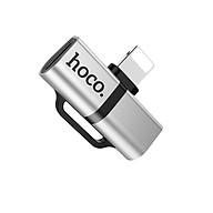 Đầu chuyển đổi từ 1 cổngLightning sang 2 cổng Lightning Hoco LS20 - Hãng nhập khẩu thumbnail