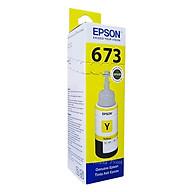 Mực in Epson T673 Yellow Ink Bottle (C13T673400) - Hàng Chính Hãng thumbnail