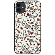 Ốp lưng da nh cho Iphone 12 Mini mẫu Họa Tiết Hoa Khô thumbnail
