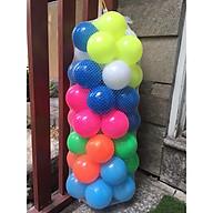 Túi 50 Quả Bóng Nhựa Màu Ngẫu Nhiên Cho Bé Vui Chơi thumbnail