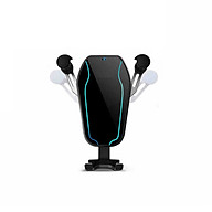 Giá đỡ điện thoại gắn khe quạt gió trên ô tô ( Tặng kèm 02 nút kẹp cao su giữ dây điện ) thumbnail