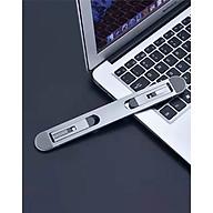 Giá đỡ laptop kệ đỡ máy tính macbook hợp kim nhôm dạng dán siêu gọn - Hàng chính hãng thumbnail