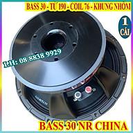 CỦ LOA BASS 30 NR NHẬP KHẨU CHINA TỪ 190 COIL 76 CAO CẤP - GIÁ 1 CỦ LOA thumbnail