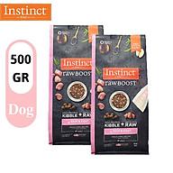 COMBO 2 GÓI 500g Thức ăn cho chó trưởng thành tốt cho sức khỏe da & lông Instinct Raw Boost Skin&Coat thumbnail