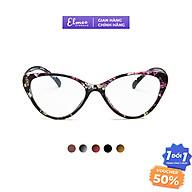 Gọng kính mắt mèo Elmee E23833 trẻ trung sành điệu cá tính nhựa dẻo nhiều màu thumbnail