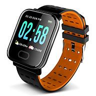 Smart Bracelet Fitness Tracker Large Screen Health Monitoring Blood Pressure Heart Rate Sleeping Sports Detecting thumbnail