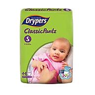 Tã quần Drypers Classicpantz S 44 miếng (4 - 8kg) thumbnail