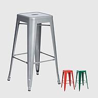 Ghế bar Tolix chân cao thumbnail