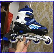 Combo dày trượt patin cao cấp thể thao ( tặng bộ bảo hộ mũ, tay , chân ) thumbnail