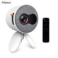 Aibecy YG220 Mini LED Projector 1080P Supported 1000 Lumens Portable Multimedia Projector Video Player Built-in Speaker thumbnail