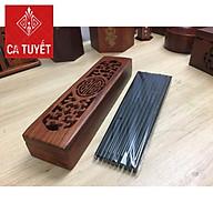 Bộ đũa ăn bằng gỗ Trắc ta và hộp gỗ hương thumbnail