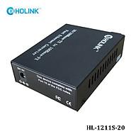 Bộ chuyển đổi quang điện Ho-Link HL-1211S-20 2 sợi quang 10 100 - Hàng Chính hãng thumbnail