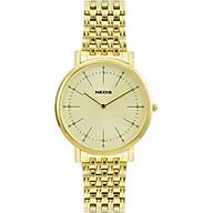 Đồng hồ Neos N-30889M Nam dây thép vàng thumbnail