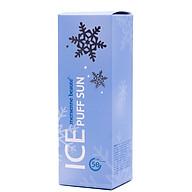 Xịt chống nắng Hàn Quốc pha lê tuyết mát lạnh cao cấp 3 in 1 Ice Puff Sun Mersenne Beaute SPF50+ PA+++ (100ml) Hàng chính hãng thumbnail