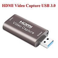 HDMI Video Capture USB 3.0 ghi chương trình vào Máy tính thumbnail
