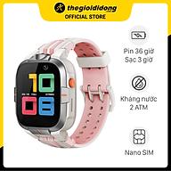 Đồng hồ định vị trẻ em 4G Kidcare S8 Hồng - Hàng chính hãng thumbnail