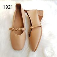 2Z07 Giày cao 4cm da mềm giầy dép thể thao nữ thời trang đế cao su đi làm đi chơi trong nhà êm chân thumbnail
