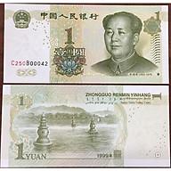 Tiền Cổ Sưu Tầm, China 1 Yuan 1999 Hình Ông Tôn Trung Sơn Mới thumbnail