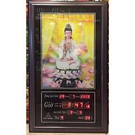 Tranh lịch vạn niên , Phật Bà Quan Âm 3D - 802 thumbnail