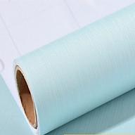5M dài ngang 60cm giấy dán tường xanh nước biển nhạt, có keo sẵn, có thể lau được khi bẩn, chất liệu dày dặn thumbnail