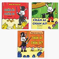 Combo (Bộ 3 cuốn) Ehon Nhận biết Chân ải Chân ai thumbnail