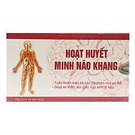 Hoạt huyết Minh Não Khang (Hộp 3 vỉ x 10 viên) thumbnail