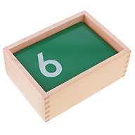 Children Montessori Number Learning Counting Toy 0-9 Sandpaper Number Boards thumbnail