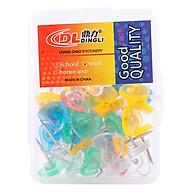Đinh Dù Màu Hộp Nhựa Hình Tim Uyên Loan Dl 1077 thumbnail