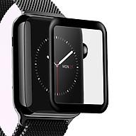 Kính cường lực cho Apple Watch Series 1.2.3.4_Chống nước_Viền dẻo thumbnail