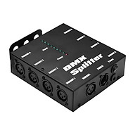 DMX512 Optical Signal Amplifier Spliter Distributor 1 Direct Input & Output 8 Independent Outputs for Light Controller thumbnail