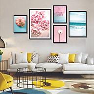 Tranh treo tường, tranh canvas TB19 bộ 5 tấm thumbnail