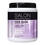 Kem ủ Salon Professional shine & gloss giúp cung cấp độ ẩm, mềm mượt tóc 1000ml thumbnail