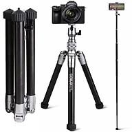 Chân máy ảnh kết hợp gậy chụp ảnh tự sướng Coman MT55, Hàng chính hãng thumbnail