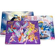 Bộ 3 tranh xếp hình A3, 48 mảnh ghép hình ảnh tranh các công chúa hoạt hình dành cho bé gái. Tia Sáng Việt Nam. Đồ chơi trí tuệ cho bé từ 3 tuổi. Chứng nhận hợp quy Xếp hình số mảnh ghép lên đến 250 mảnh. thumbnail