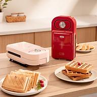 Máy Kẹp Bánh Mỳ, Nướng Bánh Mỳ Mini Đa Năng YD-216s 5 Khay Nâng Cấp Bản Mới 2021 thumbnail