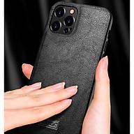 Ốp lưng iPhone 12 Pro Max chính hãng SULADA dạng da mềm thumbnail