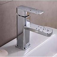 Vòi Lavabo vuông ITALIA Vòi bồn rửa chất lượng cao + Đôi dây cấp (Kiểu vuông) thumbnail