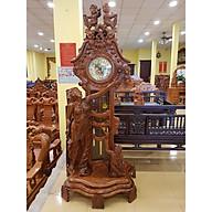 Đồng hồ gỗ hương thiên thần nhỏ DH055 thumbnail