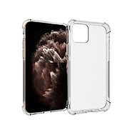 Ốp lưng Silicon dẻo trong, suốt chống sốc cho iPhone 11 Pro Max thumbnail