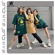 Áo thun in tay lỡ nữ freesize phông form rộng dáng Unisex - Ulzzang mặc cặp, nhóm, lớp chữ COIN ĐẦU LÂU thumbnail