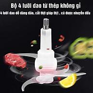 Lưỡi Dao Máy Xay Thịt Inox - Lưỡi Máy sinh tố Dung Tích 2l,3l siêu bén - đa năng thumbnail